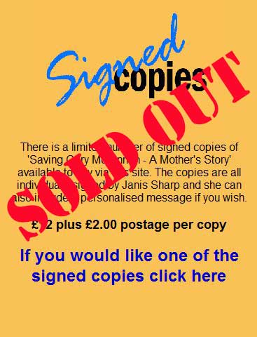 janis sharp signed copies sold out janis sharp saving gary mckinnon a mothers story